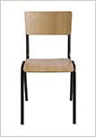 Židle FRA-9385-legno-chiaro
