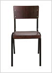 Židle FRA-9385-legno-scuro