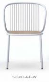 Židle SD-VELA-B-W